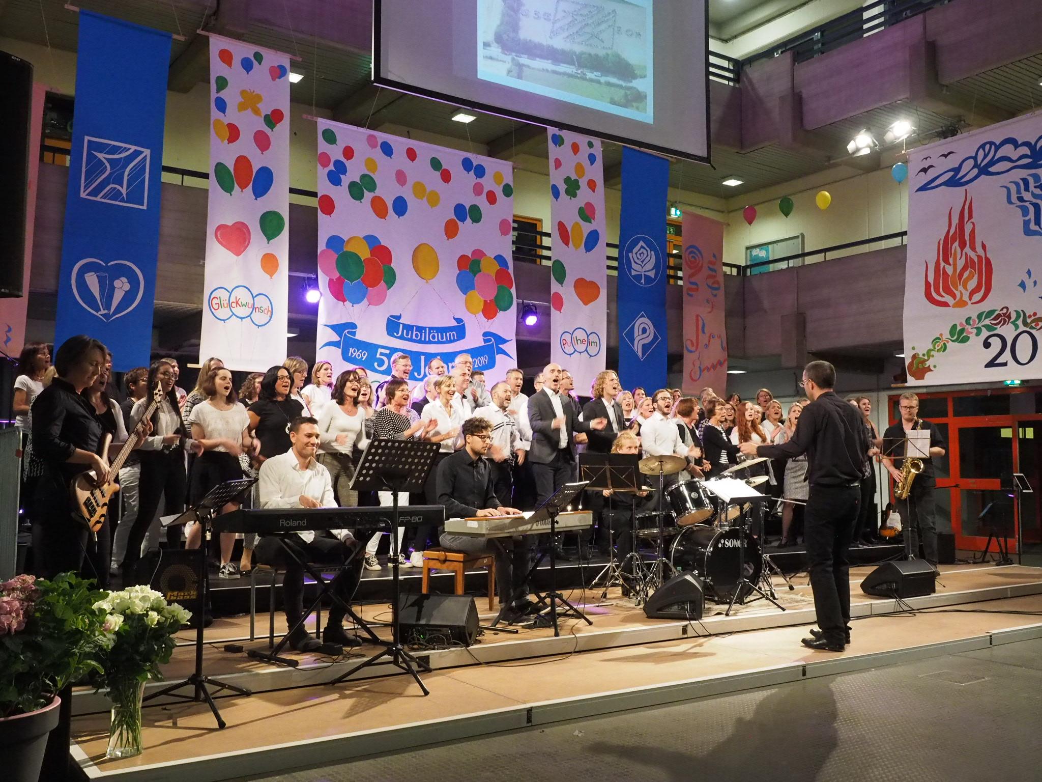 Schuljubiläum 50 Jahre GSG 2019 SELaVie - Schüler*innen, Eltern- und Lehrer-Chor der GSG Pulheim