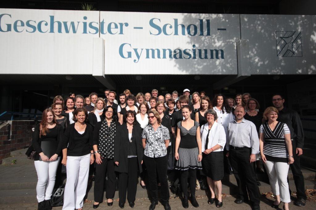Sommerkonzert 2014 SELaVie - Schüler*innen, Eltern- und Lehrer-Chor der GSG Pulheim